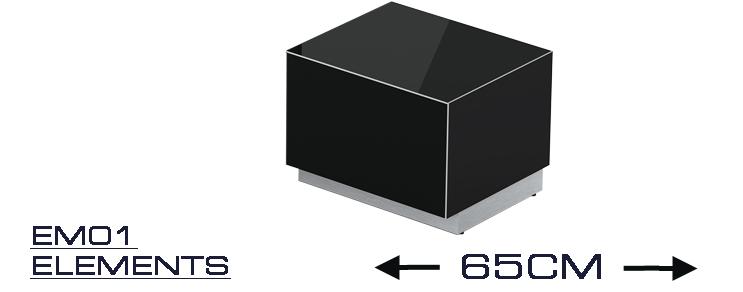 EM 01 TV-Möbel Breite 65 cm