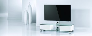 TV-Furniture Wood & Glass & Metal