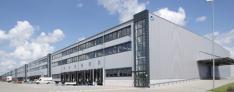 Logistics center Hamburg
