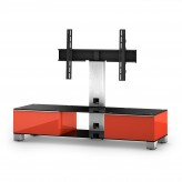 Sonorous TV-Möbel, TV-Racks, TV 56 zoll/inch  - Sonorous - MD 8140-B-INX-RED