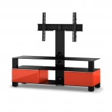Sonorous TV-Rack, TV 56 inch  - Sonorous - MD 8143-B-HBLK-RED