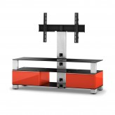 Sonorous TV-Rack, TV 56 inch  - Sonorous - MD 8143-B-INX-RED