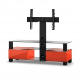 Sonorous TV-Rack, TV 56 inch  - Sonorous - MD 8143-C-HBLK-RED