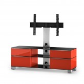 Sonorous TV-Möbel, TV-Racks, TV 56 zoll/inch  - Sonorous - MD 8240-B-INX-RED