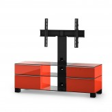 Sonorous TV-Möbel, TV-Racks, TV 56 zoll/inch  - Sonorous - MD 8240-C-HBLK-RED