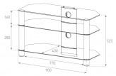 Sonorous TV-Möbel, TV-Racks, TV 37 zoll/inch - Sonorous - NEO 390-C-BLK
